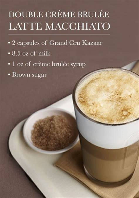 Creme Brulee Latte Coffee Bean latte macchiato cr 232 me brul 233 e flavoured latte macchiato