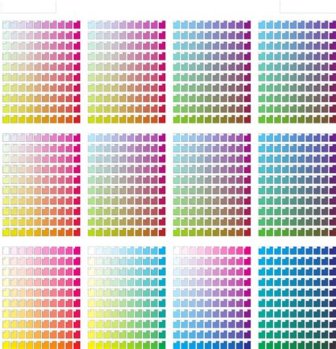 color or colour the cmyk color chart can help you make a professional and