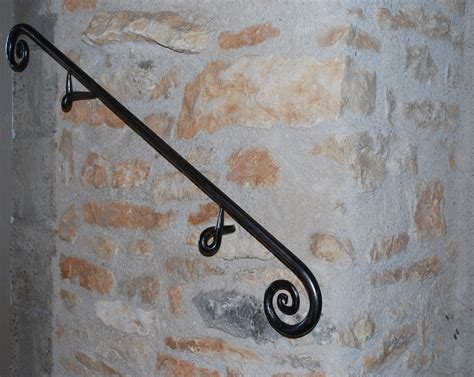 Wrought Iron Handrail Handrail Labastrou Inside Ironwood Motif