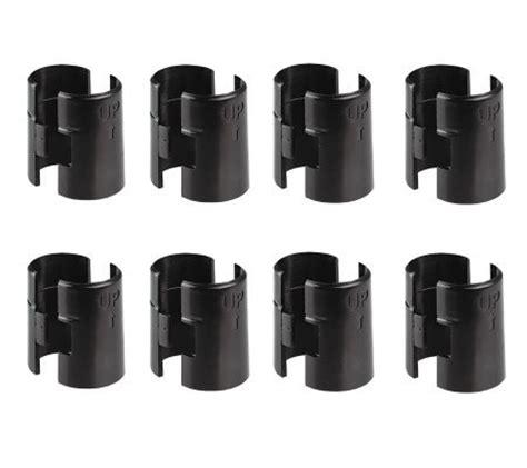 Alera Wire Shelving Shelf Lock Clips Plastic Black 8 Wire Shelving Shelf Lock