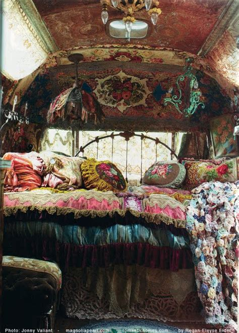 gypsy bedroom gypsy caravan interior design home decorating ideas