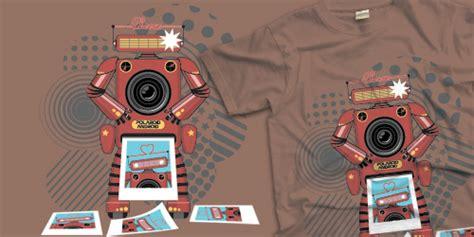 tutorial illustrator robot premium tutorial fun cute polaroid robot