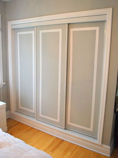 Wardrobe Door Mouldings by Closet Door Ideas That Add Style And Character