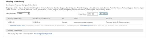 ebay import charges new compulsory quot import fees quot from usa to canada the ebay