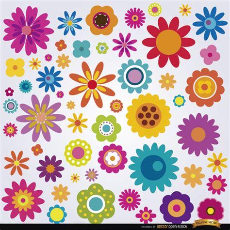 descargar fondos de pantalla flores de muchos colores hd fondo con las flores de colores descargar vectores gratis