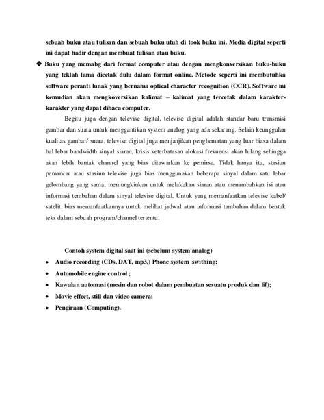 makalah membuat film makalah perbedaan analog dan digital