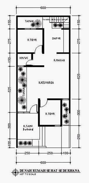 desain rumah ukuran 8x15 1 lantai desain rumah minimalis 1 lantai ukuran 6x15 model rumah unik