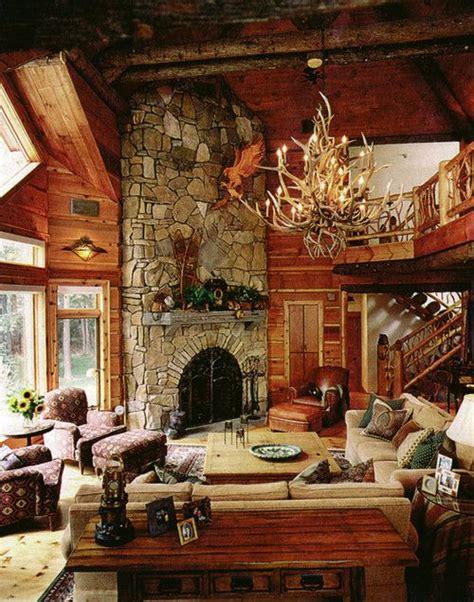 log cabin living room interior designs i love pinterest log home living room love the fireplace your