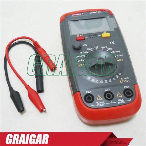 where can i buy a capacitor meter pro capacitance meter capacitor digital tester meter ua6013l