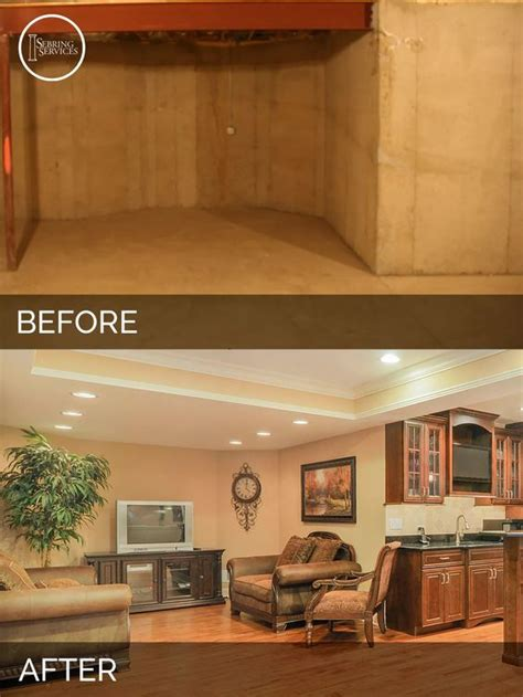 s basement before after