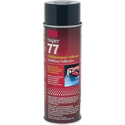 3m spray adhesive 3m 77 spray adhesive