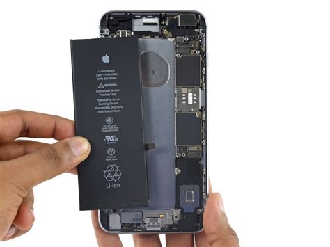 iphone 6 battery replacement iphone 6s plus battery replacement ifixit repair guide
