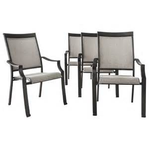 Patio Chairs From Target Threshold Harriet 4 Sling Patio Chair Set Target