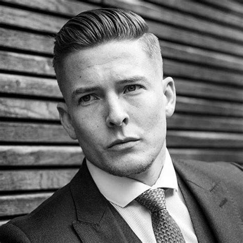 gentlemens haircuts short sides and fade with long on top 25 top professional business hairstyles for men men s