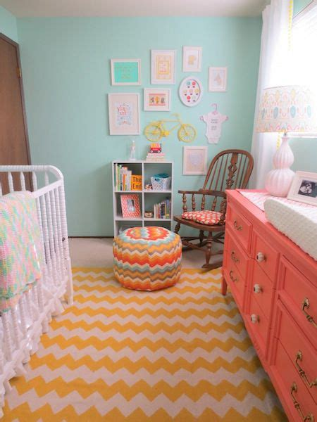 coral nursery rug 25 best ideas about yellow chevron rugs on teal bathroom mirrors bedroom paint