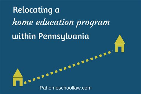 moving your homeschool to a new school district within