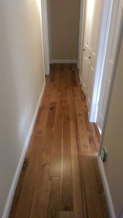 Homerwood Hickory Turmeric in a hallway. #decor #design #