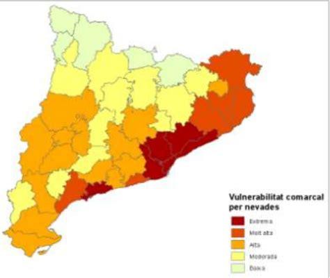 gencat interior riscos ambientals i antr 242 pics a catalunya i espanya