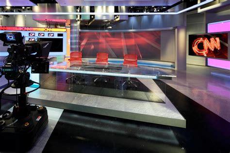 cnn live news room anchor cnn readies atlanta studio for debut newscaststudio
