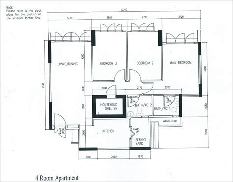 floorplan of our 4 room hdb flat our journey to a hdb