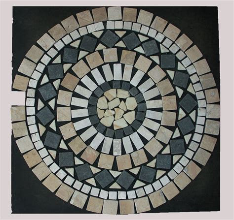 fliese ornament 1 x mosaik ornament aus marmor 60 cm x 60 cm ein blickfang