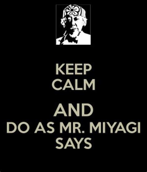 Mr Miyagi Meme - mr miyagi quotes quotesgram