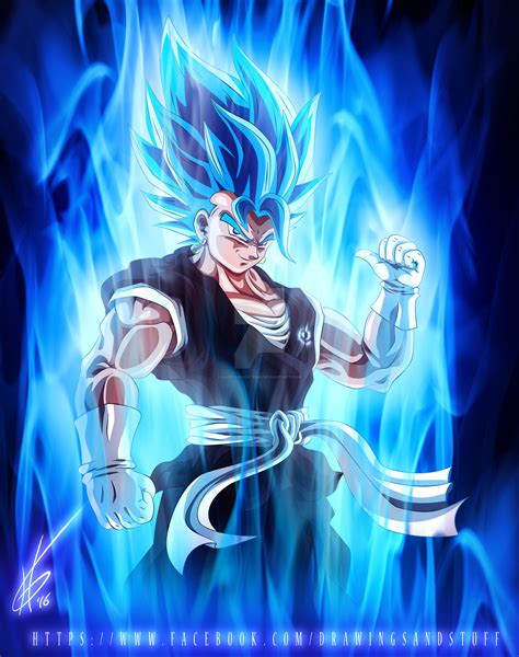 imagenes ultra chidas supersaiyan blue vegito by kapitanyostenk on deviantart