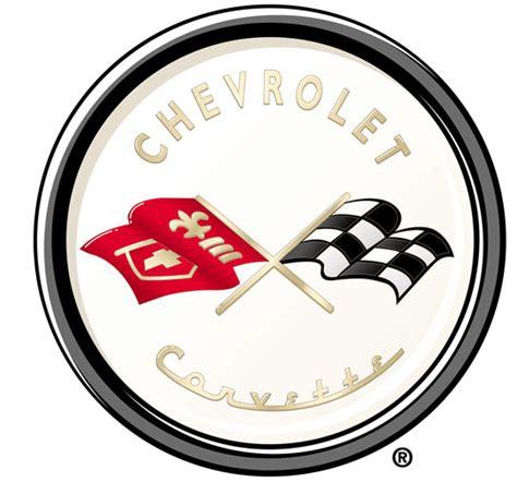 corvette logo history a brief history of the corvette emblem corvetteforum