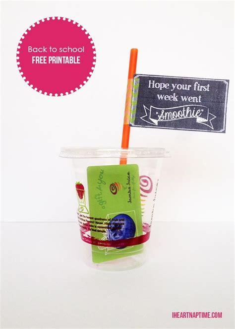 Printable Gift Card Holder - free smoothie printable gift card holder gift card
