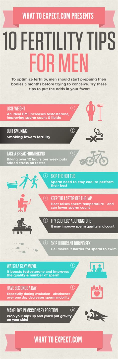 10 grooming tips for men oprahcom 10 ways to boost fertility in men infographic what to