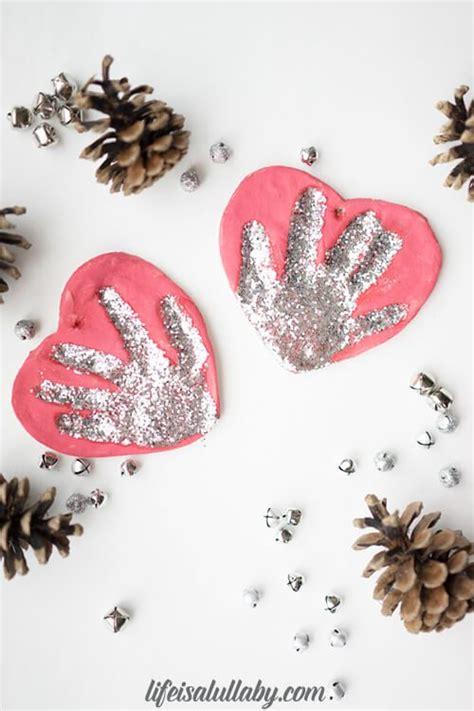 salt dough handprint ornament  easiest
