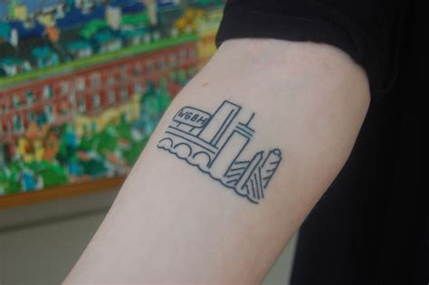 boston skyline tattoo designs the with the wgbh wgbh news