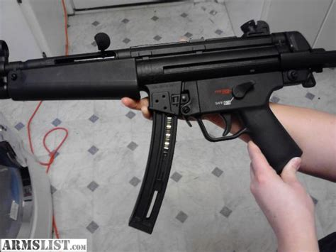 How To Make A Paper Smg - armslist for sale h k mp5 s a smg 22 cal 700 obo