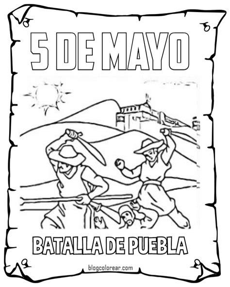 imagenes del 5 de mayo para colorear colorear 5 de mayo para ni 241 os m 233 xico colorear dibujos