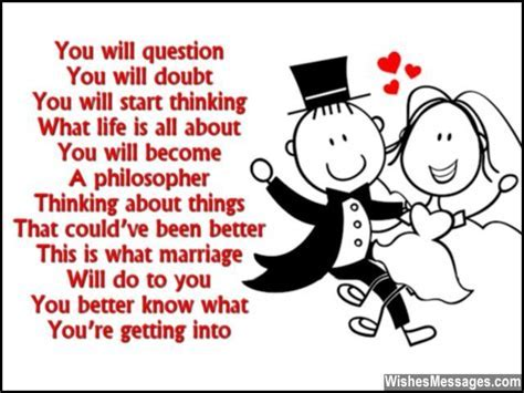 Funny Wedding Card Poems: Congratulations for Getting