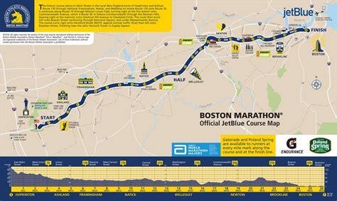 boston marathon route map boston marathon road closures what areas to avoid and