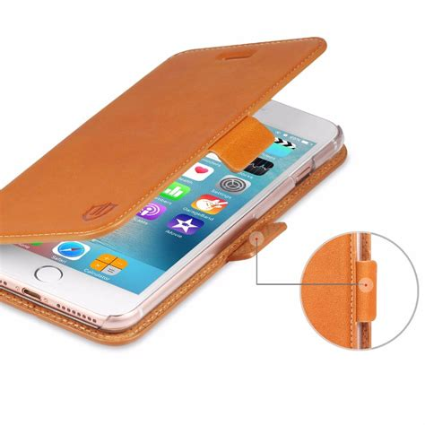 shieldon iphone 7 plus flip genuine leather