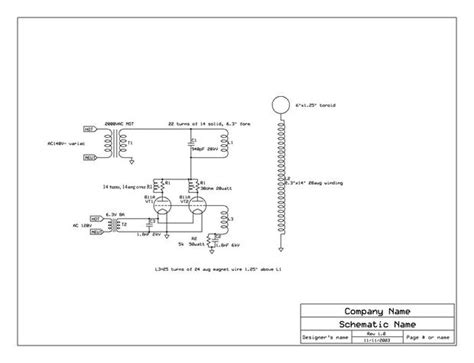 Tesla Coil Schematic How To Build A Vacuum Tesla Coil Vttc 4