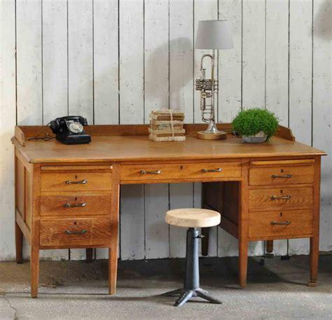 vintage oak s desk 1930 s vintage oak gentleman s desk and drawers home