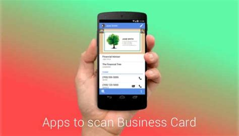 Best Business Card Scanner App 2016 top 11 android business card scanner apps 2016 best free