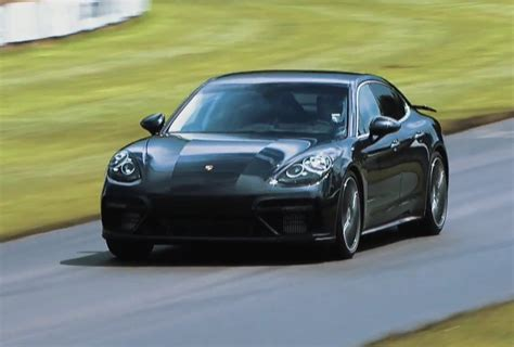 2017 porsche panamera turbo 2017 porsche panamera turbo previewed at goodwood hill