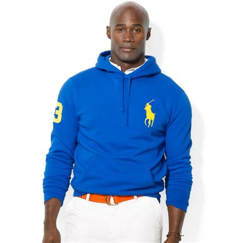 Sweater Hoodie Polos Lyst Ralph Polo Big And Big Pony