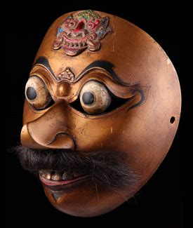 Topeng Mask Clay Who Am I Fiber mascasia galerie de masques d indon 233 sie une large collection de topeng