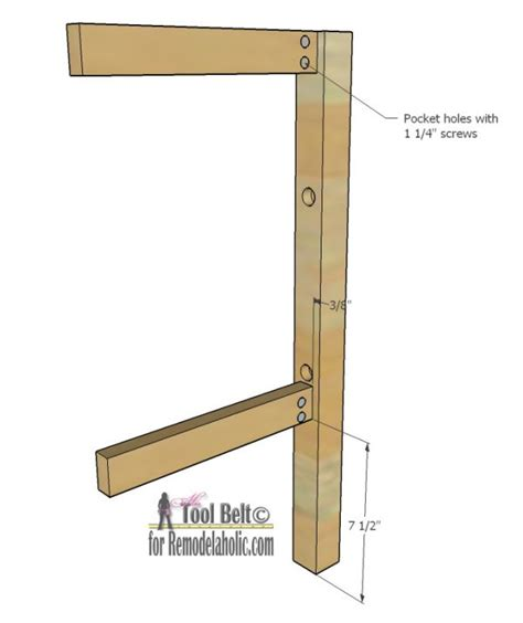 Free Bar Stool Plans by Remodelaholic Diy Bar Stools With Metal Bar Accents