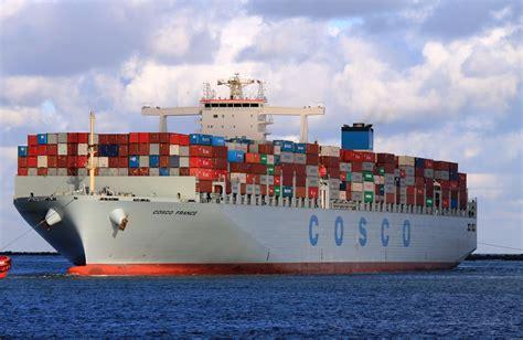 shipping a cosco 9516416 container ship maritime connector