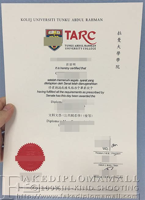 Cambridge Mba Deposit by Tarc Degree Certificate From Malaysia Buy