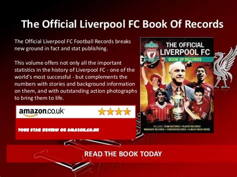 the official liverpool fc book of records carlton liverpool fc books all supporters must read