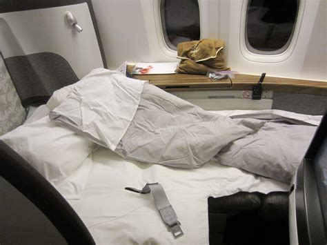 1st Class Sleeper by Snowboarding In Whistler Cathay Pacific Class New