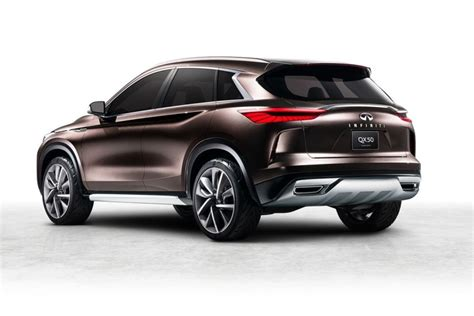 new infiniti qx50 suv concept revealed