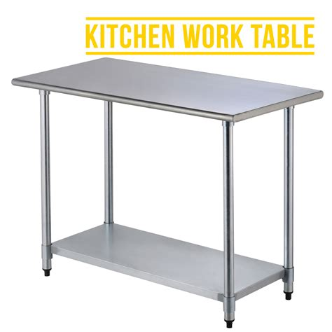 2ft 215 4ft commercial stainless steel kitchen restaurant work